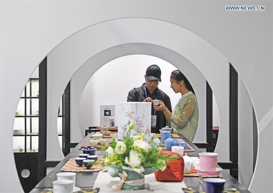China Jingdezhen Int'l Ceramics Exposition held