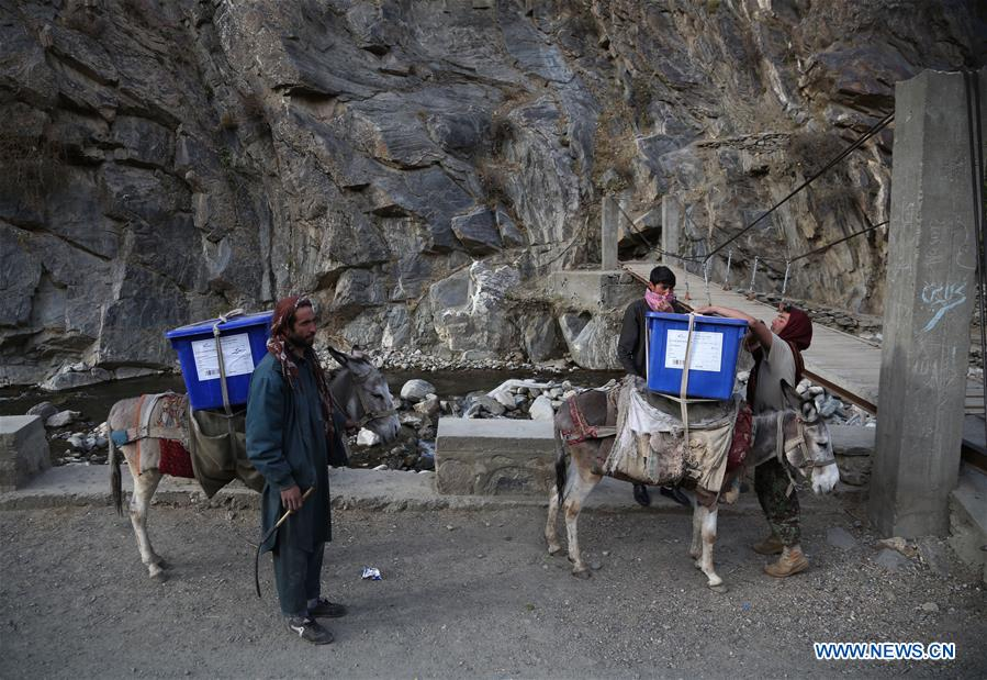 Afghanistan to hold elections for lower house of parliament