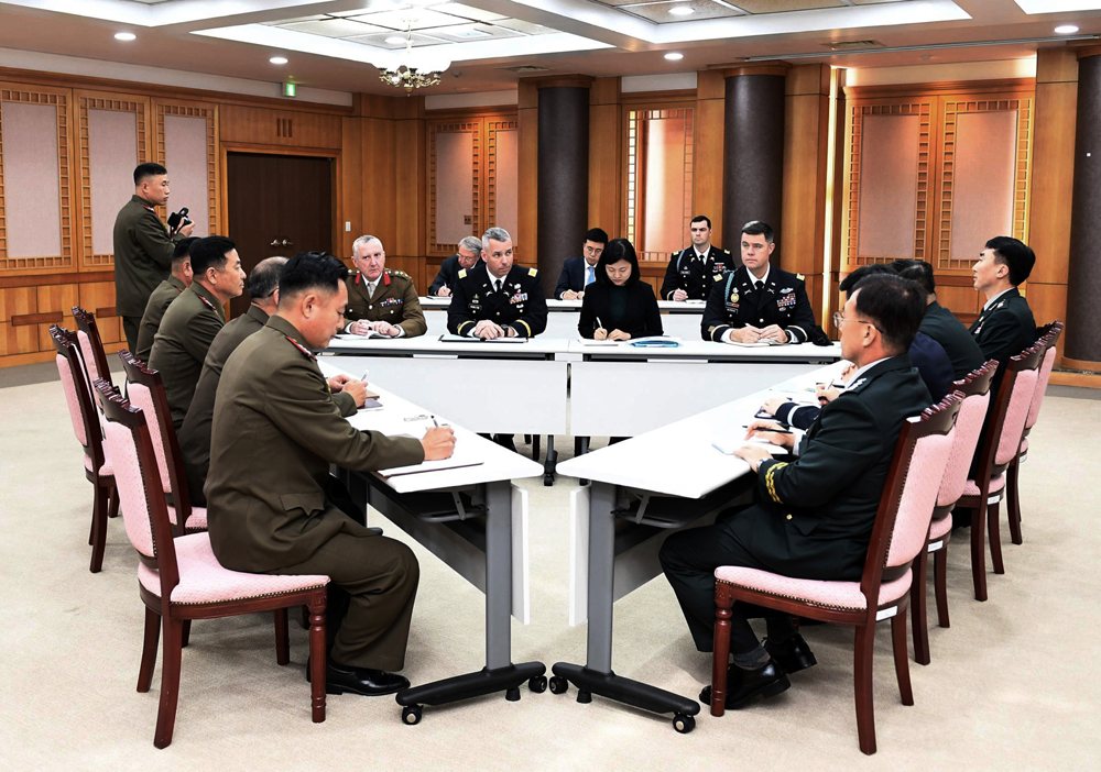 S.Korea, DPRK to hold general-grade military talks on Oct. 26