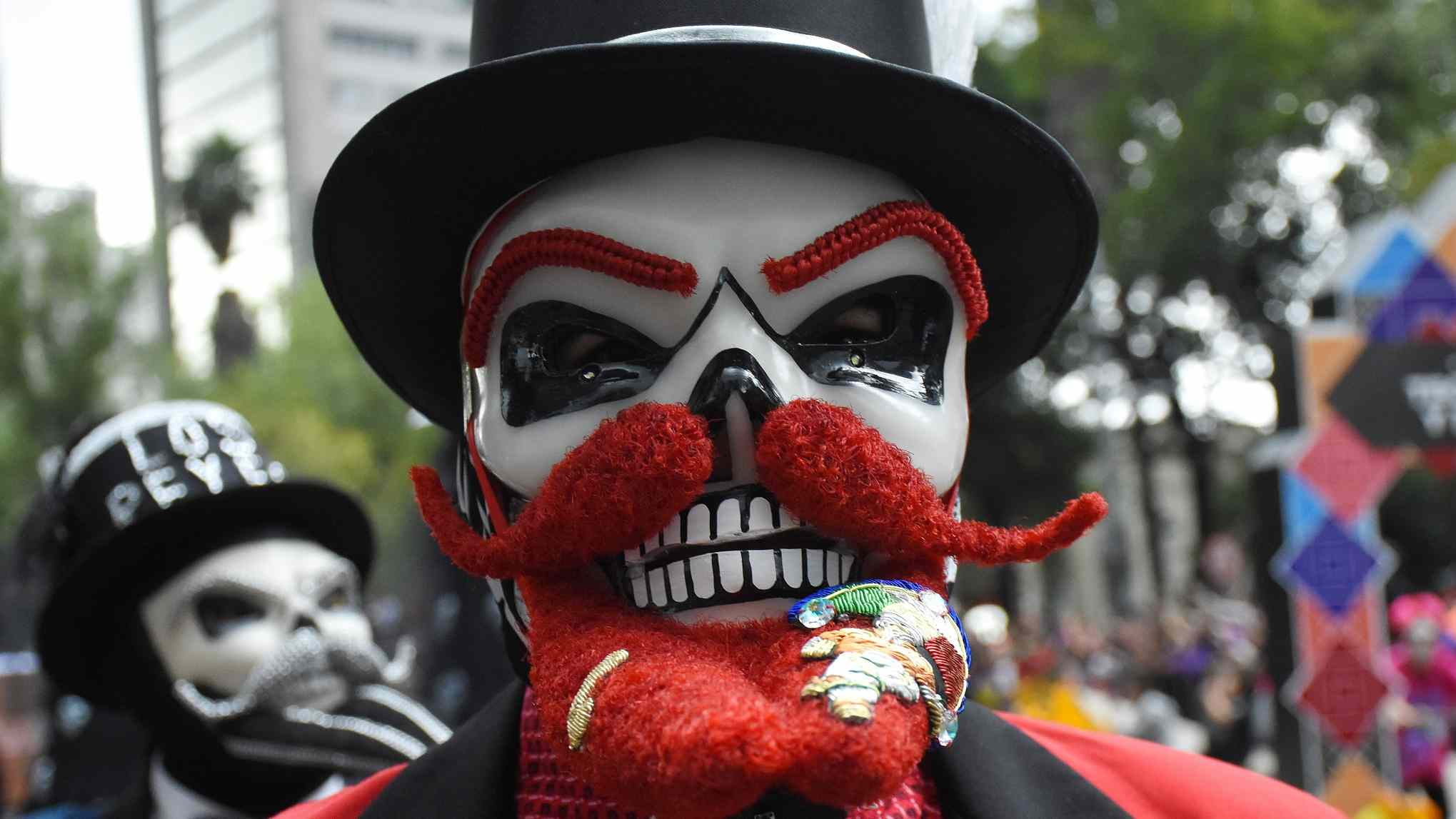 Mexico City hosts Day of the Dead parade