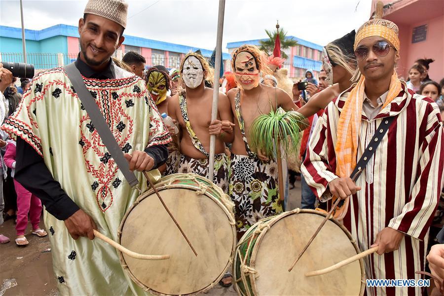 Annual Boujloud Festival celebrated in Sale, Morocco