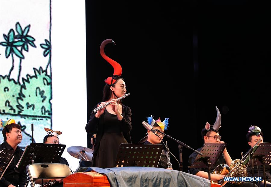 Concert adapted from German picture book held in Shanghai