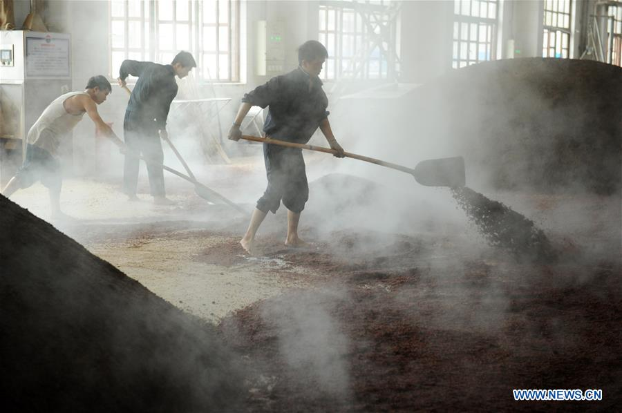 In pics: distillery of famous brand of Chinese liquor Moutai in China's Guizhou