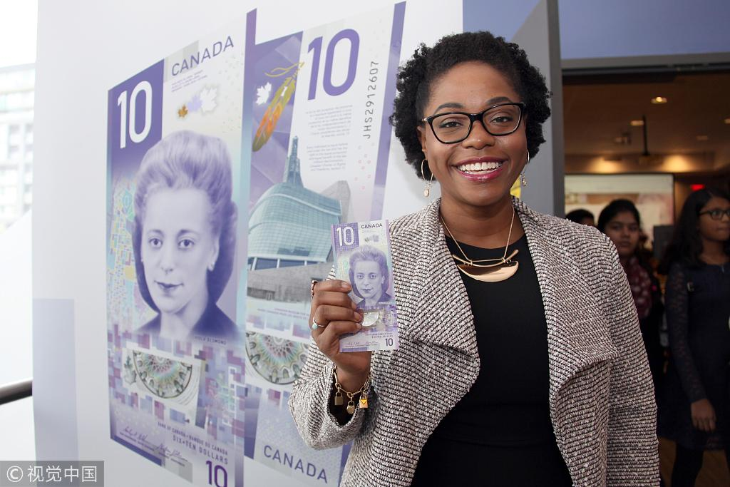 Canada issues vertical $10 bill featuring civil rights icon