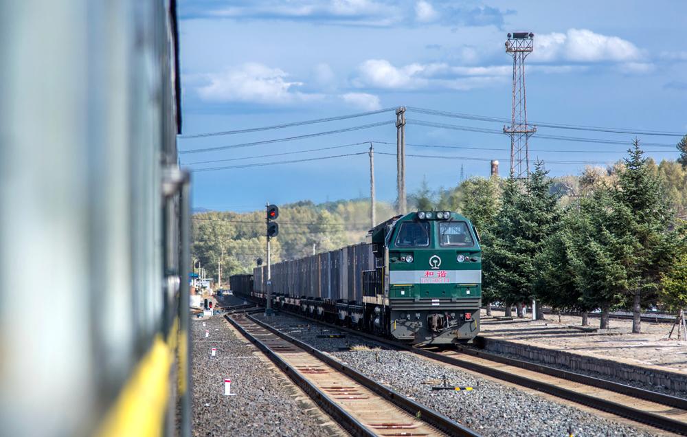 Railway in the Democratic People's Republic of Korea. [File Photo: IC]