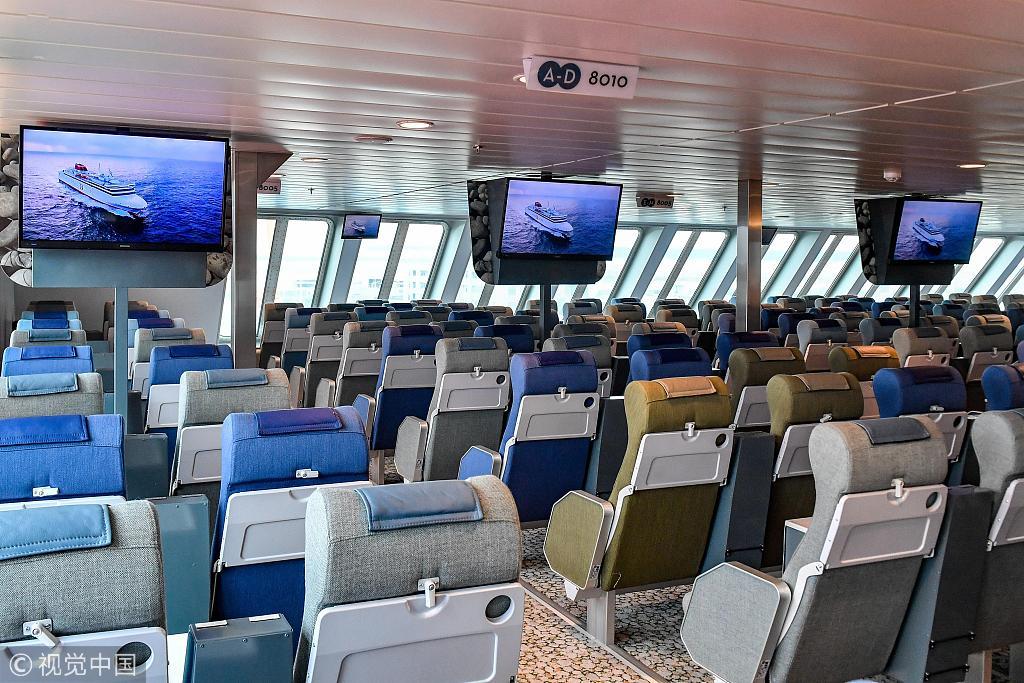 The interior view of the Visborg's passenger cabin. [Photo: VCG]