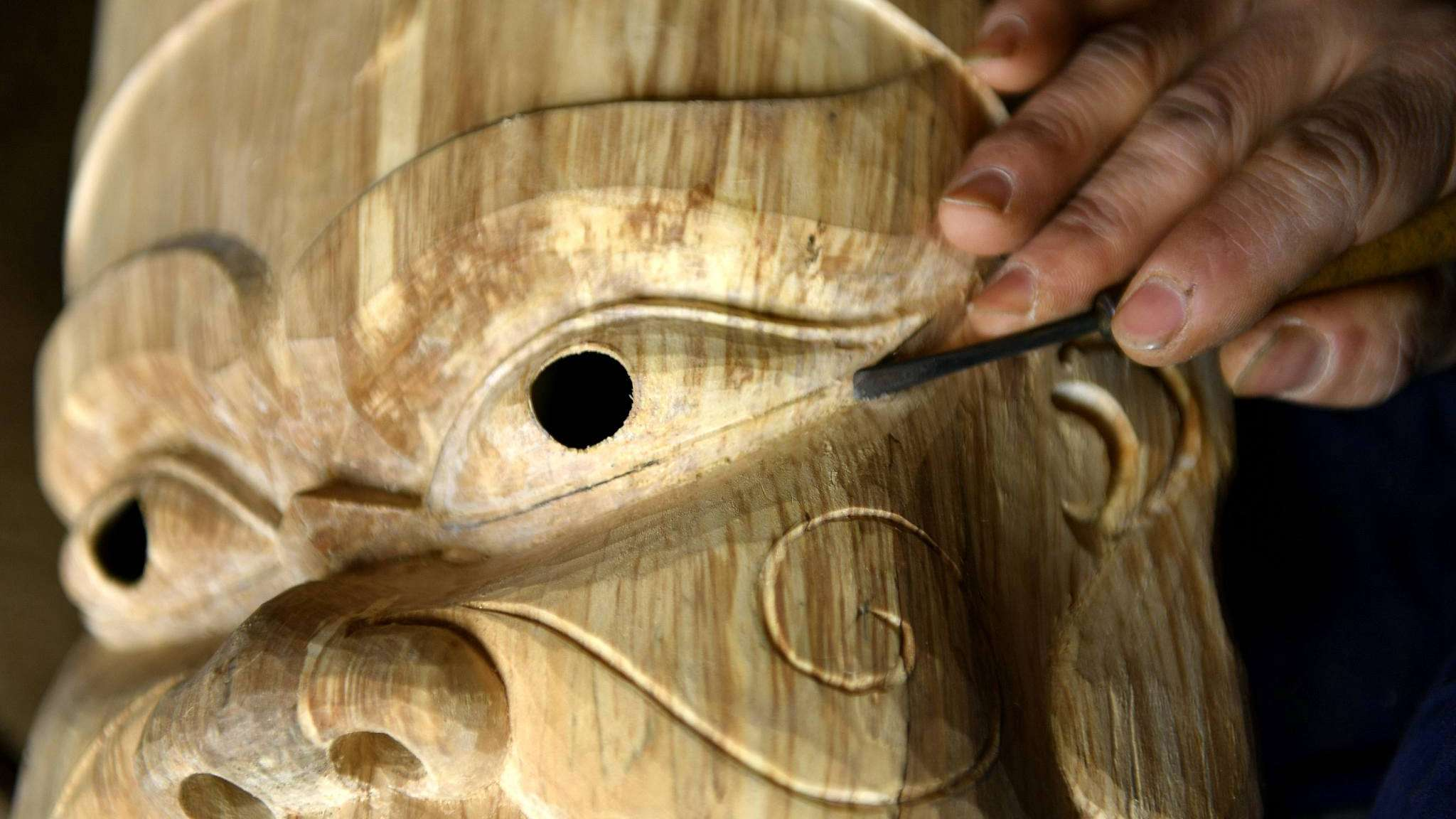 The many faces of ancient Nuo Opera masks