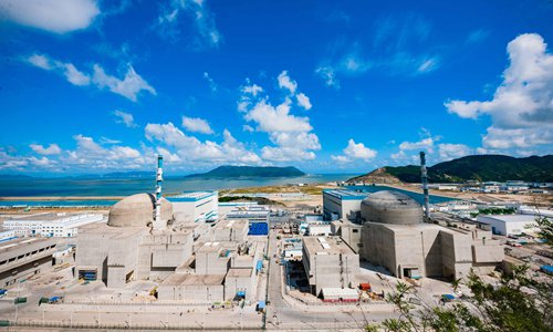 Unit 1 of the Taishan nuclear power plant begins commercial operations on December 13. [Photo: VCG]
