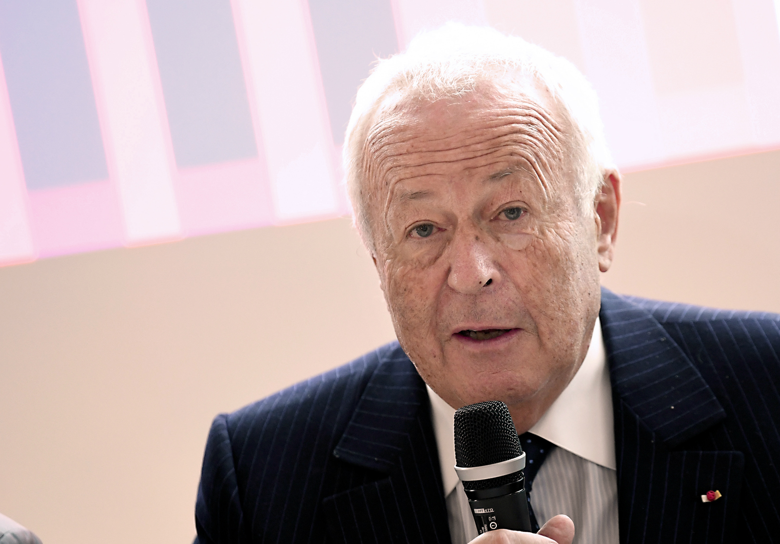 President of Fondation Merieux, Alain Merieux, attending the 50th anniversary of the Fondation Merieux, which is dedicated to fighting infectious diseases, September 14, 2017, Veyrier du Lac, France. [Photo: AFP]