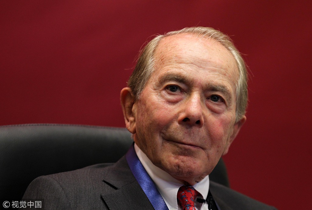 Maurice Greenberg. [File Photo: VCG]