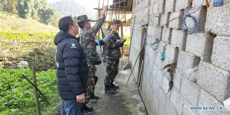 Rescue work underway in quake-hit Sichuan