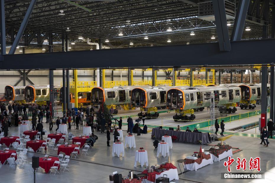 Massachusetts Bay Transportation Authority ordered 152 Orange Line subways cars and 252 Red Line subway cars. [Photo: chinanews.com]