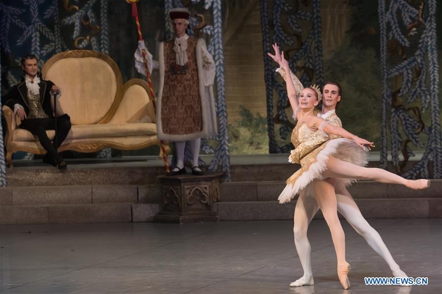Nutcracker performed by Hungarian National Ballet Company in Budapest