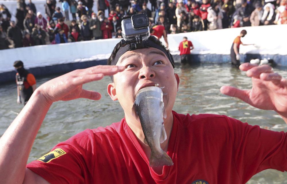 South Korea Ice Festival draws over one million visitors