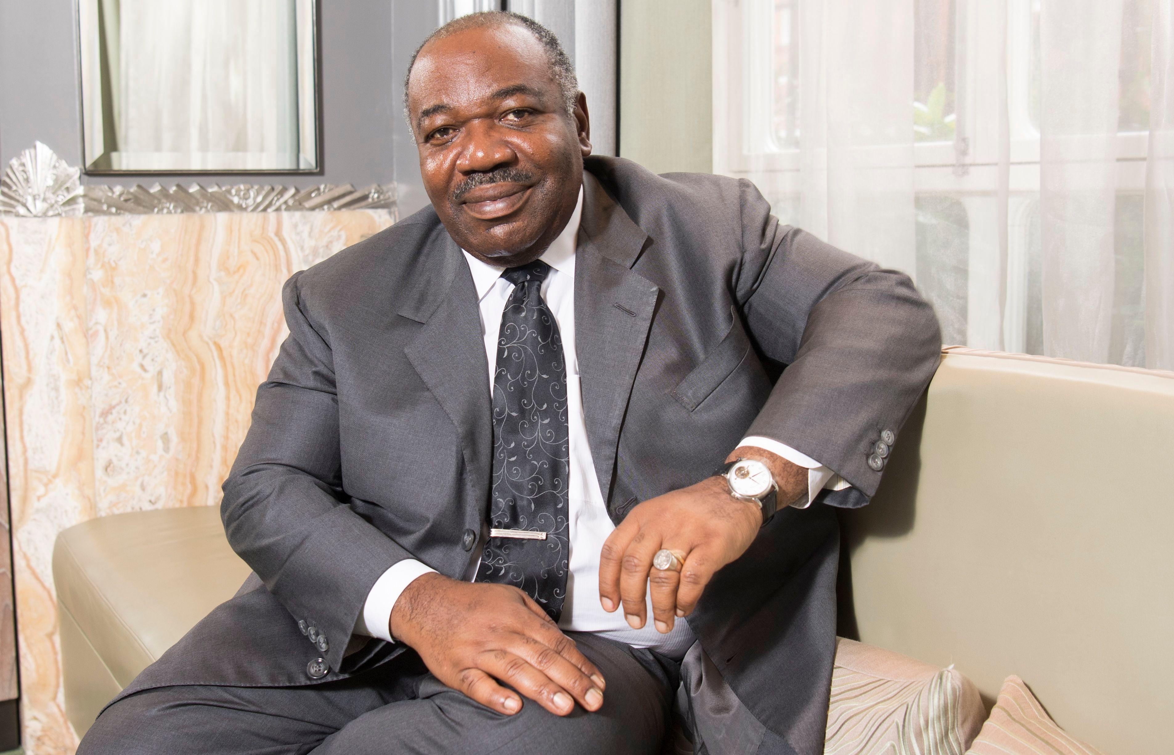President of Gabon Ali Bongo Ondimba President of Gabon Ali Bongo Ondimba,London,UK, October 8, 2018.[Photo via IC/Paul Grover]