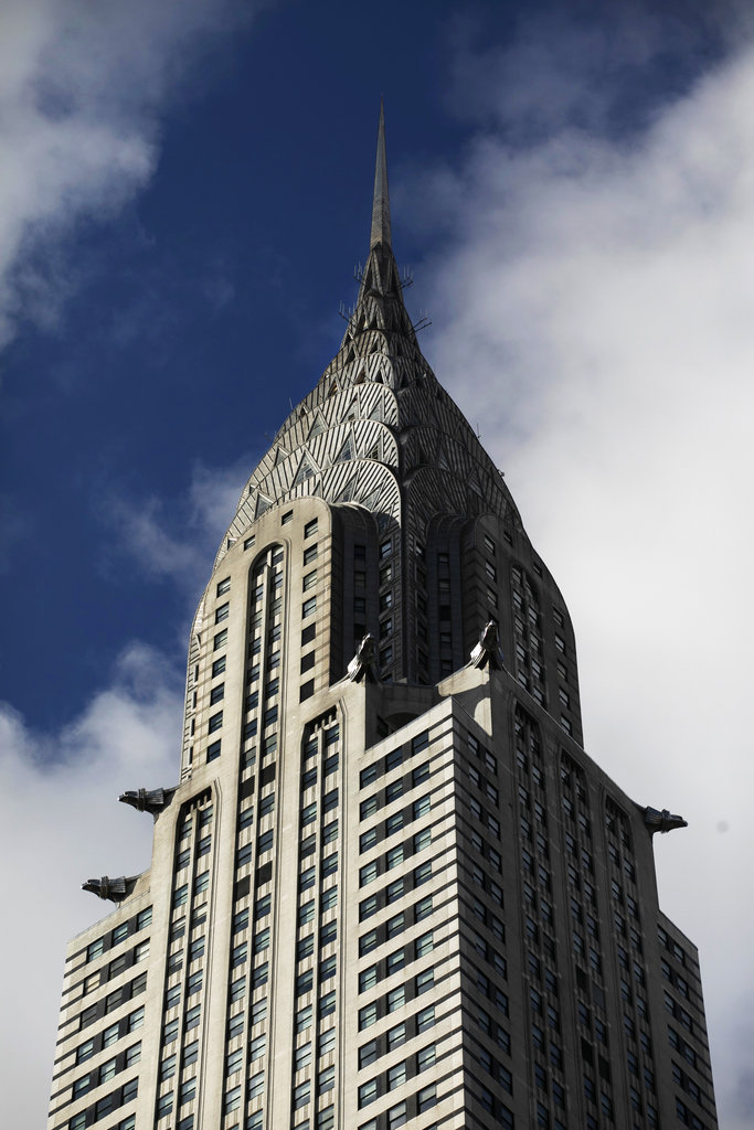 Clouds float past the Chrysler Building, Wednesday, Jan. 9, 2019, in New York. The art deco masterpiece that was briefly the world's tallest skyscraper when it was completed in 1930 is up for sale. [Photo: AP/Mark Lennihan]