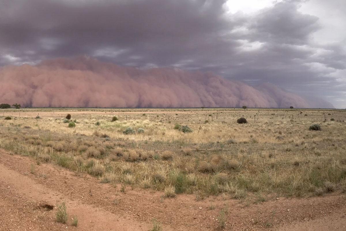 British family encounters tsunami-like sandstorm in Australia