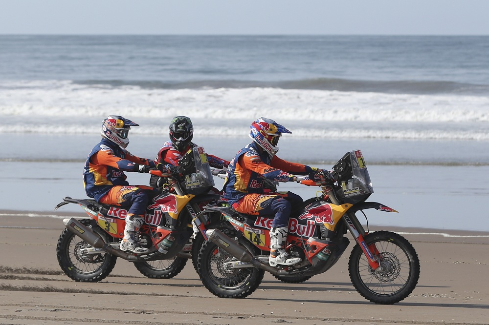 The fifth stage of the 2019 Dakar Rally between Tacna and Arequrallyipa held in Peru