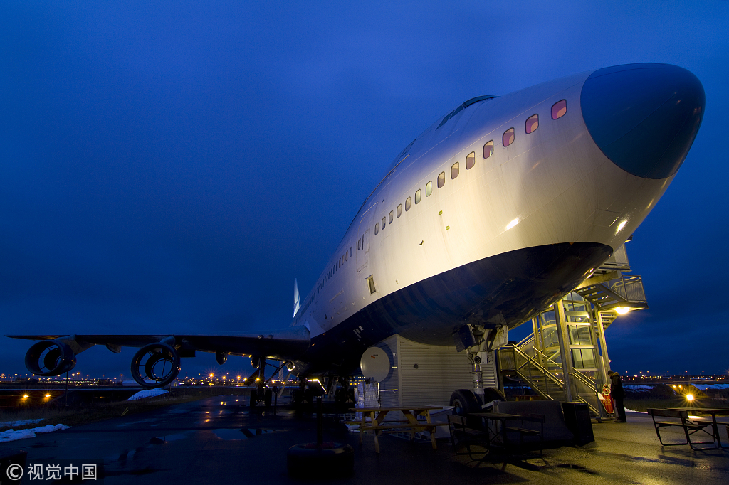 Old Boeing jumbo jet in Sweden turned into luxury hotel