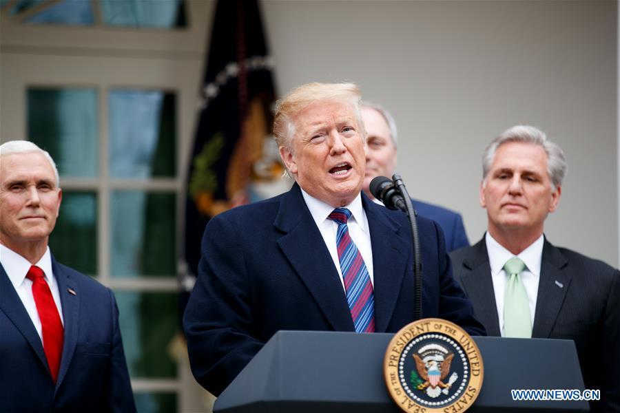 U.S.-WASHINGTON D.C.-TRUMP-PARTIAL GOVERNMENT SHUTDOWN-PRESS CONFERENCE
