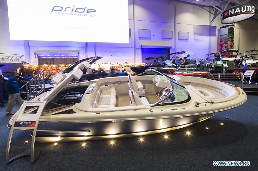 In pics: Toronto International Boat Show