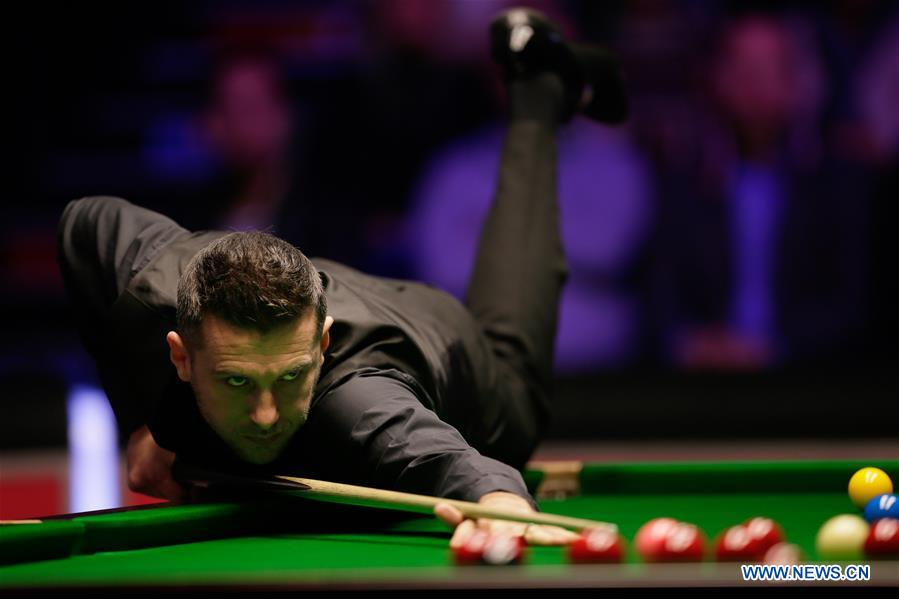 Highlights of quarterfinal match at Snooker Masters 2019