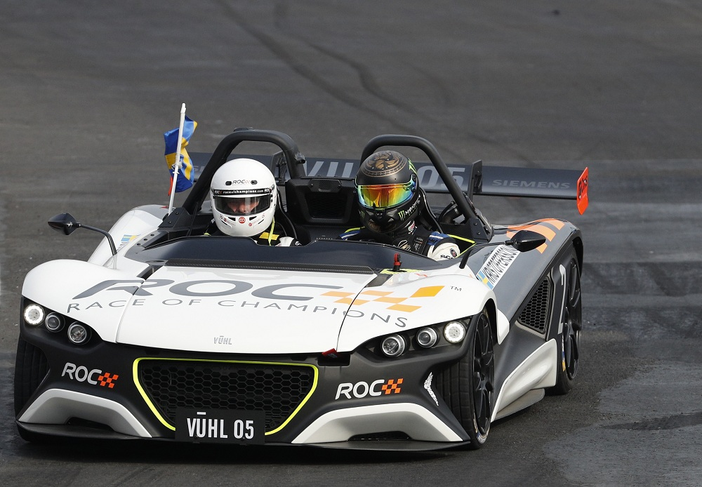 The Race of Champions held for the first time in Latin America