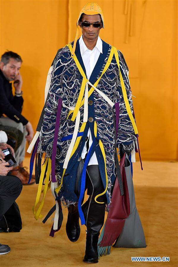 In pics: Loewe 2019/2020 F/W Men's collection show