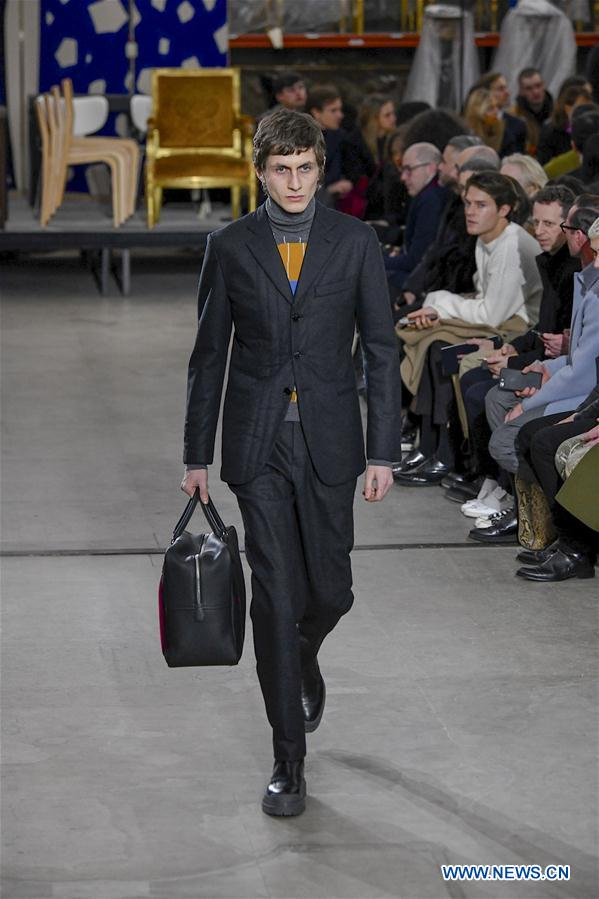 Hermes 2019/2020 F/W Men's collection presented in Paris