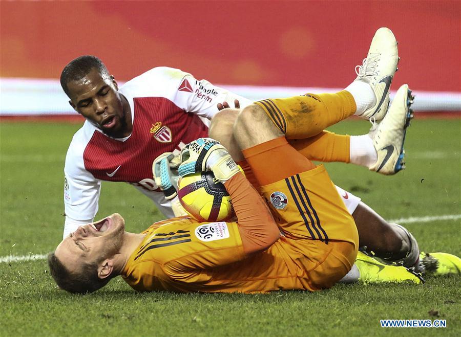 Strasburg beats Monaco 5-1 during Ligue 1 match