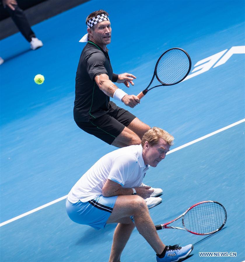 Highlights of Men's Legends Doubles match at 2019 Australian Open