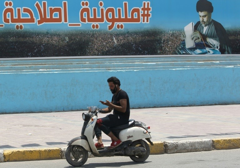 Iraq rivals jostle for power after cleric Sadr's shock win
