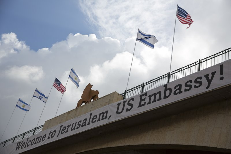 For Palestinians, US Embassy move a show of pro-Israel bias