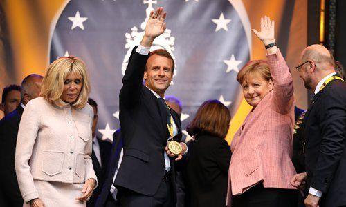 Macron to Merkel: 'Don't wait, act now' for Europe