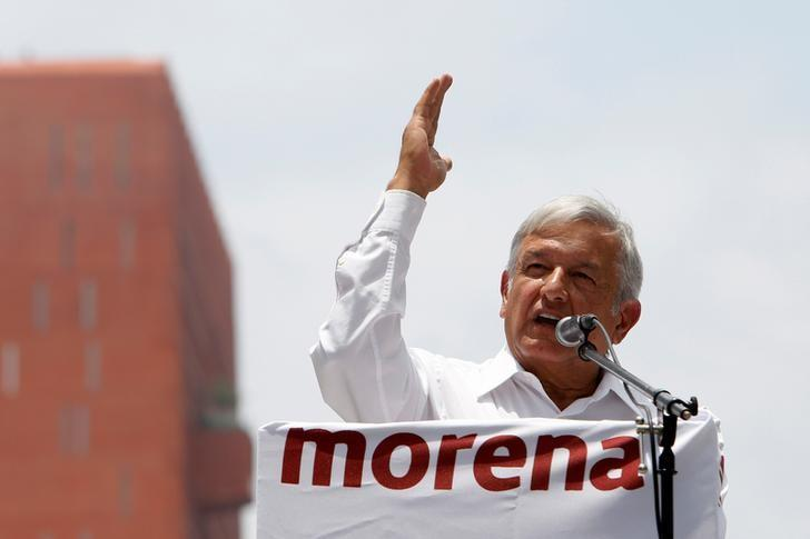 Mexican leftist widens lead in presidential race: poll
