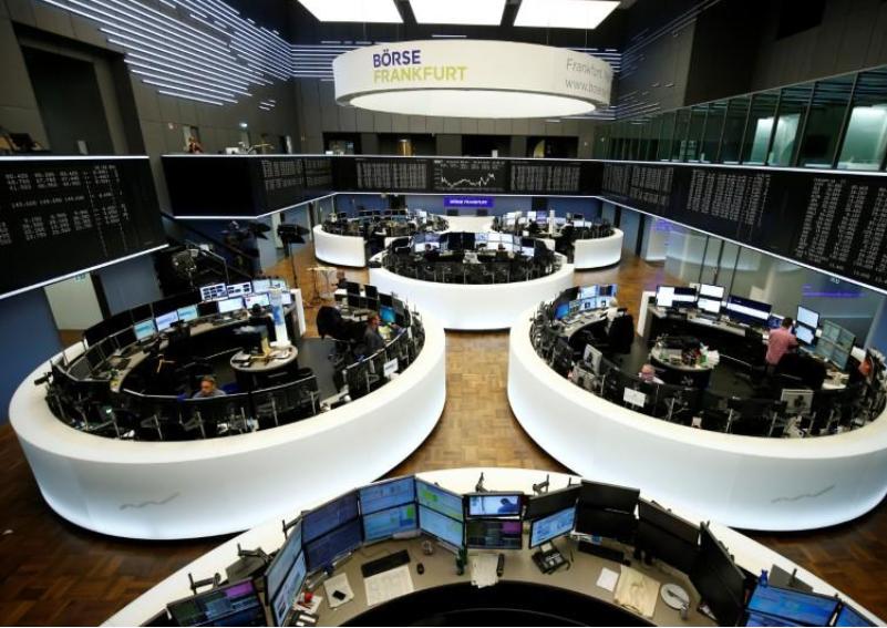 European shares buoyed by Nestle, turmoil hammers Air France