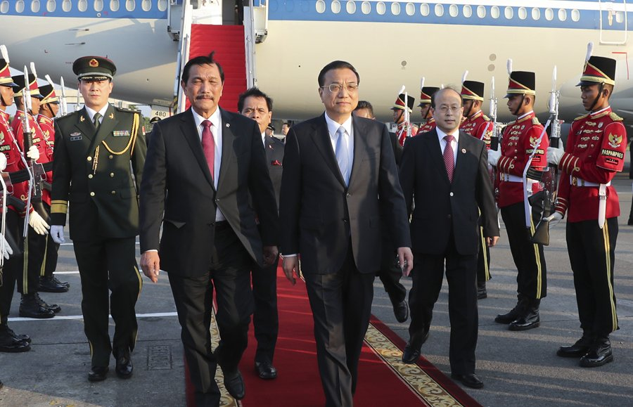 Premier Li's visit to boost military, security ties with Indonesia