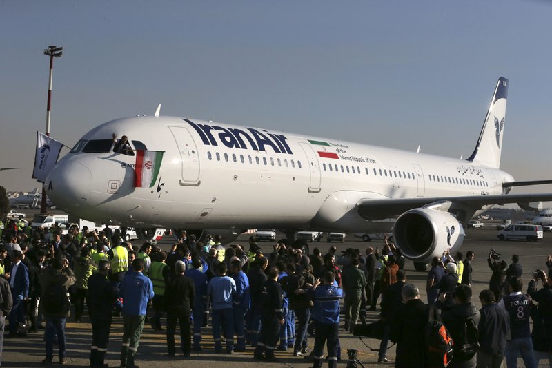 Airplane and oil deals at risk in Trump pullout of Iran deal