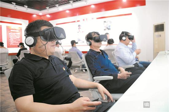 Chinese city uses VR gear in test of CPC members' loyalty