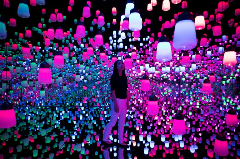 Tokyo digital art museum looks to 'expand the beautiful'