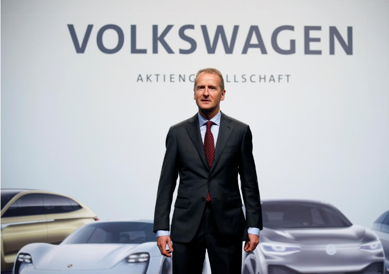 New VW CEO vows integrity drive but investors unimpressed