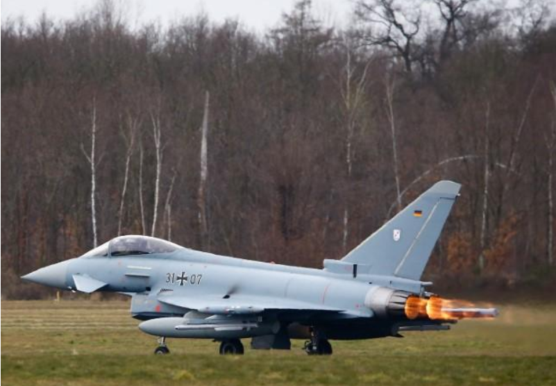 Germany confident Eurofighter supplier issue can be resolved soon