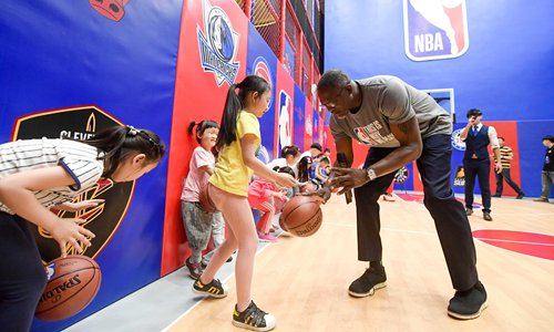 NBA China opens first lifestyle center in Tianjin