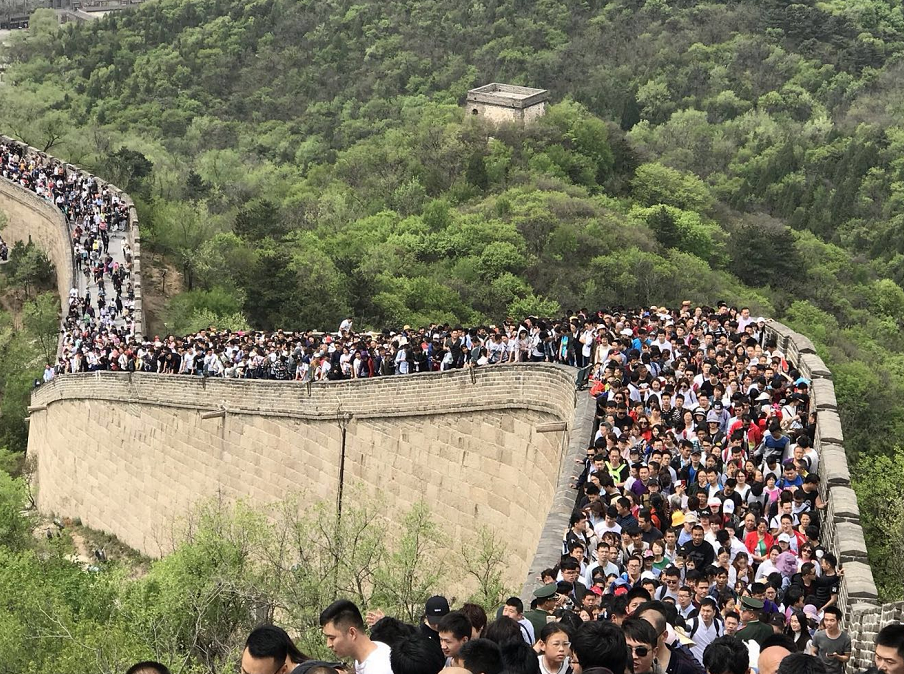 May Day holiday sees a total of 147 million domestic tourists travel