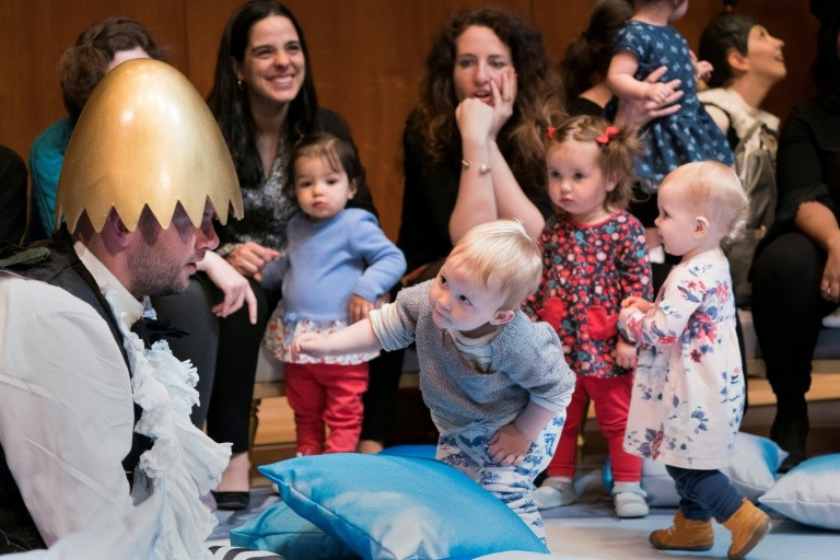 At New York's Met, an opera even babies can go gaga for