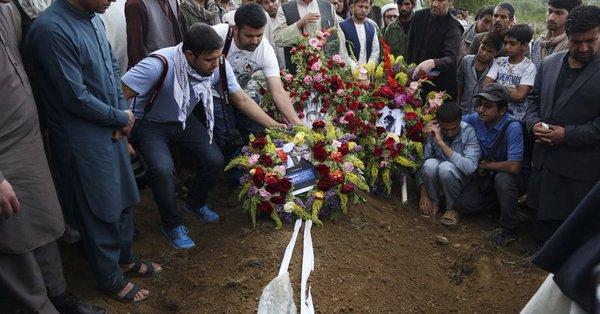 Thousands attend memorial for slain Afghan AFP photographer