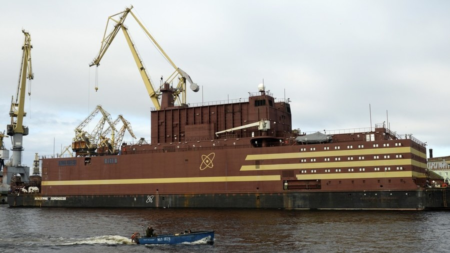 Media meltdown as Russia's first floating nuclear power goes on fueling trip