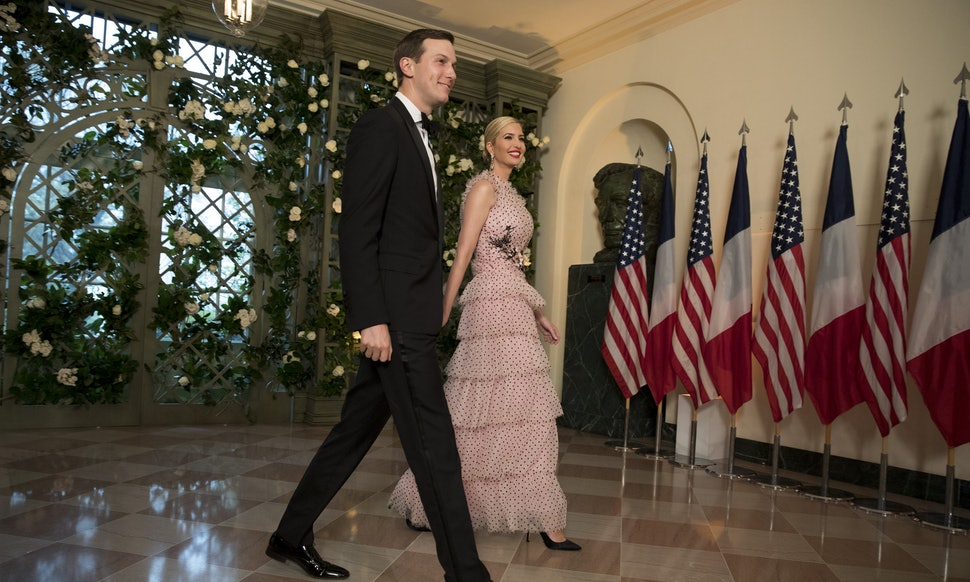 Ivanka Trump attended French State Dinner appearing amazing