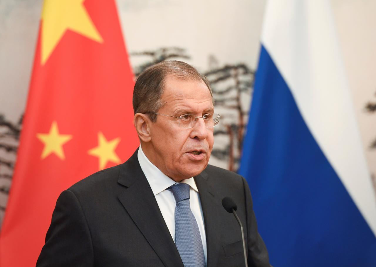 Image result for lavrov beijing reuters