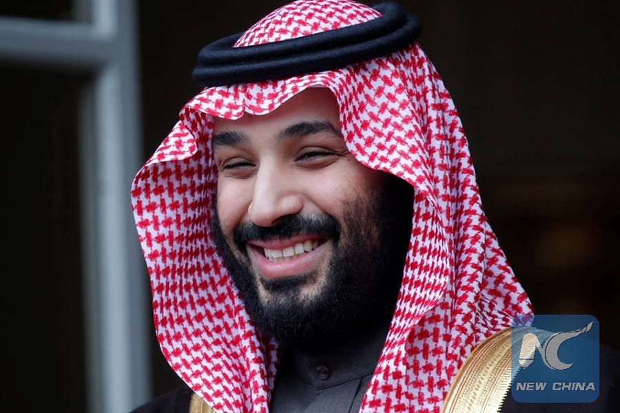 New prince of Saudi Arabia courts Hollywood